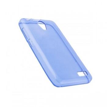 Чехол силиконовый Silicone Case Blue для lenovo A319